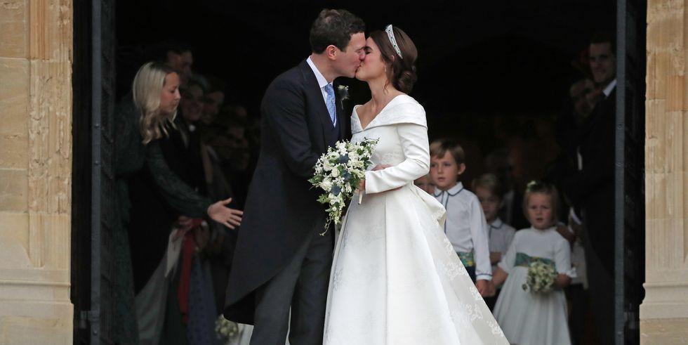PRINCESS EUGENIE OF YORK  & JACK BROOKSBANK, JUST MARRIED